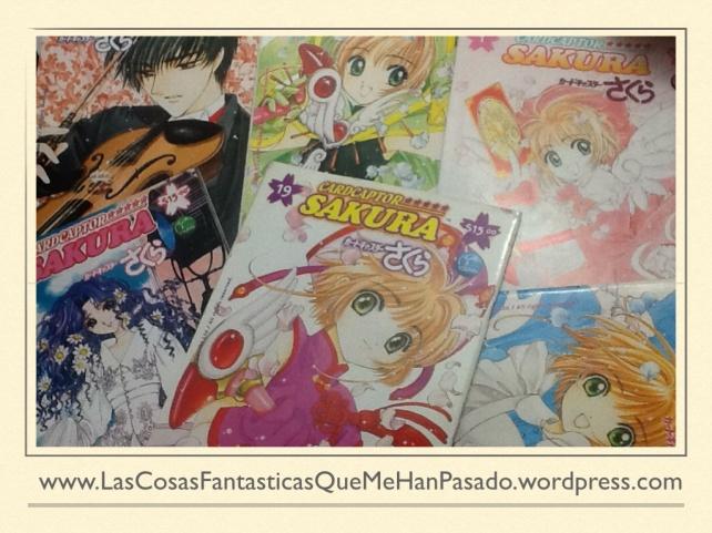 "Mangas de ""Sakura Card Captor"""